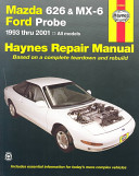 Mazda 626 And Mx 6 Ford Probe Automotive Repair Manual
