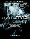 download ebook how to disappear pdf epub