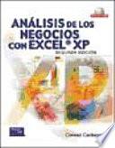 An  lisis de los negocios con Excel XP