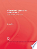 Capital   Labour In South Africa