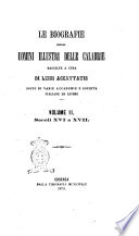 Le biografie degli uomini illustri delle Calabrie raccolte a cura di Luigi Accattatis