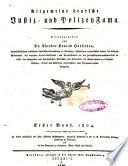 Allgemeine deutsche Justiz- und Policeifama