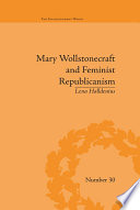 Mary Wollstonecraft and Feminist Republicanism