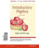 Introductory Algebra  Books a la Carte Edition