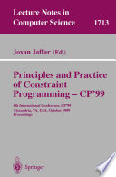Principles and Practice of Constraint Programming   CP 99