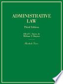 Administrative Law  3d  Hornbook Series