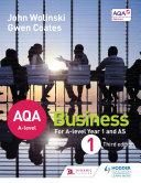 AQA A Level Business 1 Third Edition  Wolinski   Coates