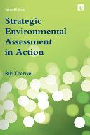download ebook strategic environmental assessment in action pdf epub