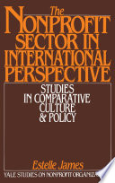 The Nonprofit Sector in International Perspective
