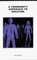 Ebook A Community Approach to Bullying Epub Peter Randall Apps Read Mobile