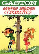 illustration Gaston - Tome 14 - Gaffes, bévues et boulette