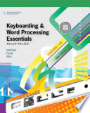 Keyboarding and Word Processing Essentials  Lessons 1 55  Microsoft Word 2010
