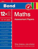 Bond Maths Assessment Papers 12  13  Years