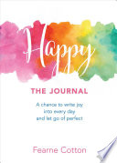 Happy: The Journal Book Cover