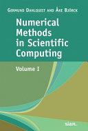 Numerical Methods in Scientific Computing: