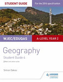 WJEC Eduqas A Level Geography Student Guide 4  Water and Carbon Cycles