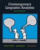 Contemporary Linguistic Analysis