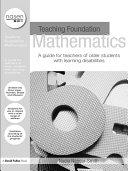Teaching Foundation Mathematics