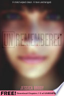 Unremembered  Chapters 1 5