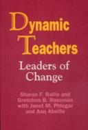 Dynamic teachers