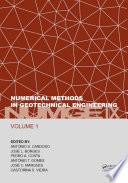 Numerical Methods in Geotechnical Engineering IX  Volume 1
