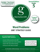 Word Problems GRE Strategy Guide  2nd Edition
