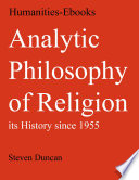 Analytic Philosophy of Religion  its History since 1955