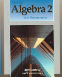 Merrill Algebra 2 with Trigonometry