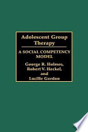 Adolescent Group Therapy