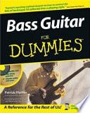 Bass Guitar For Dummies