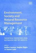 Environment  Society and Natural Resource Management