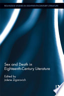 Sex and Death in Eighteenth Century Literature