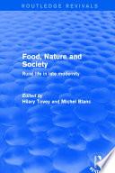 Food  Nature and Society