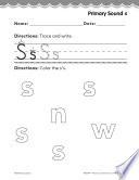 Pre Kindergarten Foundational Phonics Skills  Primary Sound s