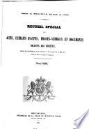 Bijzondere verzameling van de akten, uittreksels uit akten, processenverbaal en bescheiden betreffende de handelsvennootschappen