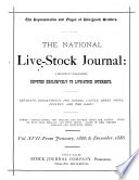 National Live Stock Journal book