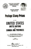 Postage stamp prices of the United States  United Nations  and Canada and provinces
