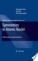Symmetries in Atomic Nuclei