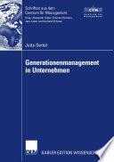 Generationenmanagement in Unternehmen