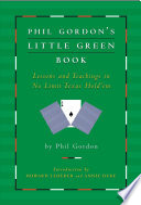 Phil Gordon S Little Green Book
