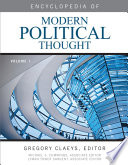 Encyclopedia of Modern Political Thought  set