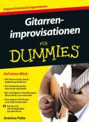 Gitarrenimprovisationen f  r Dummies