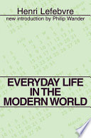 Everyday Life in the Modern World