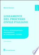Lineamenti del processo civile italiano  Tutela giurisdizionale  procedimento di cognizione  cautele