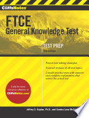 CliffsNotes FTCE General Knowledge Test  3rd Edition