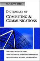 McGraw Hill Dictionary of Computing   Communications