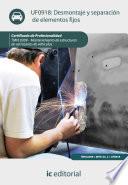 Desmontaje y separaci  n de elementos fijos  TMVL0309