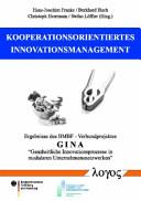 Kooperationsorientiertes Innovationsmanagement