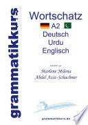 W  rterbuch Deutsch   Urdu  Englisch A2