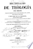 Diccionario de teolog  a